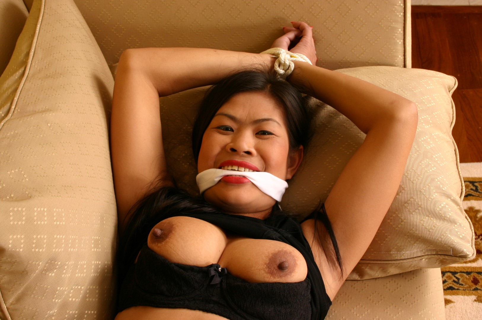 Drunk Asian Lesbian Bondage